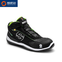 "Sparco Stiefel ""Racing Evo black green"" S3 ESD"