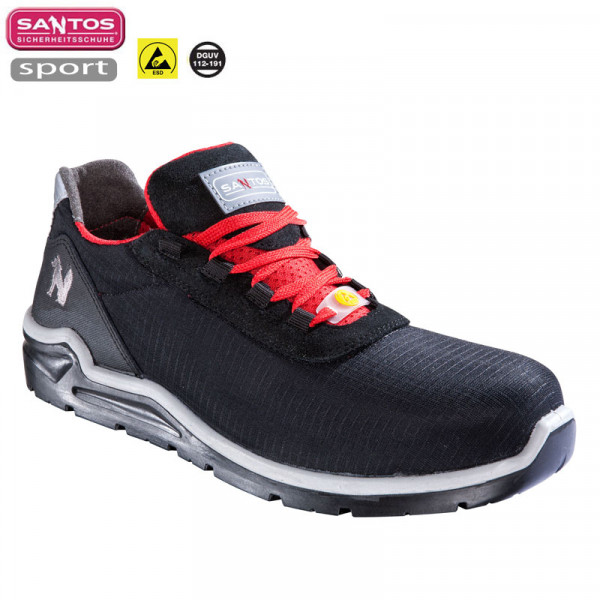 "Santos Arbeitsschuh ""S40 Black Lace"" S3 ESD"