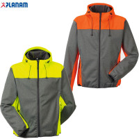 Outdoor Kontrast Softshelljacke