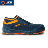 "Sparco Halbschuh ""Legend blue orange"" S1P"