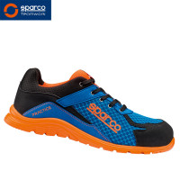 "Sparco Halbschuh ""Blue Orange Practice"" S1P"