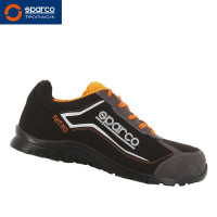 "Sparco Halbschuh ""Nitro Black Orange"" S3"