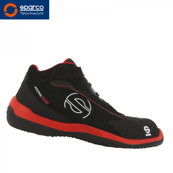 "Sparco Stiefel ""Black-Red Racing Evo"" S3"